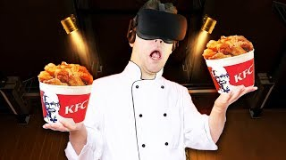 KFC Escape Room Training! - KFC The Hard Way Gameplay - VR Oculus Rift