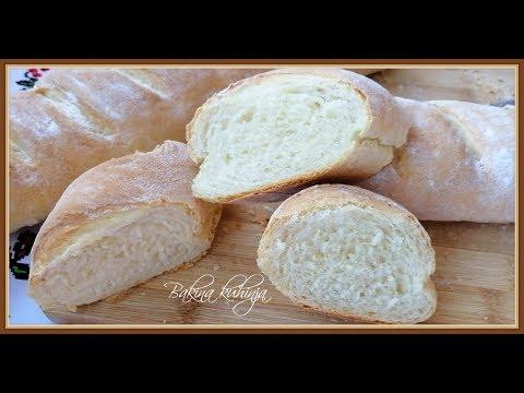 Bakina kuhinja - vrhunski francuski hleb na bakin način