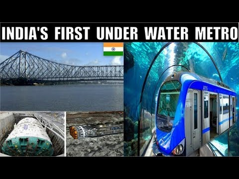 Kolkata - India's First UnderWater Metro | How is it Done ? Watch To Know || Debdut YouTube