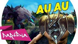 Baixar AU AU - NASUS BODYBUILDER | DOWNTOWN - ANITTA & J BALVIN / Paródia League of Legends