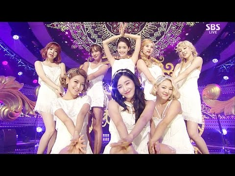 Girls 'Generation - Lion Heart @ Lagu Populer Inkigayo 20150830