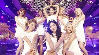 Cover images 소녀시대(Girls' Generation) - Lion Heart(라이온 하트) @인기가요 Inkigayo 20150830