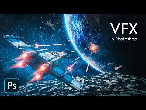 Make Your Images AWESOME With VFX In Photoshop - Visual Effect Magic