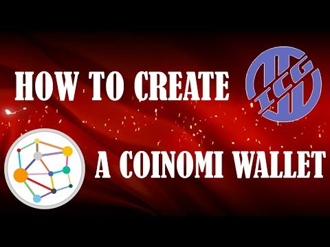 HOW TO SET UP A COINOMI WALLET