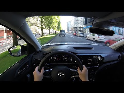 Volkswagen T-Cross 1.0 TSI First Edition (2019) POV Test Drive