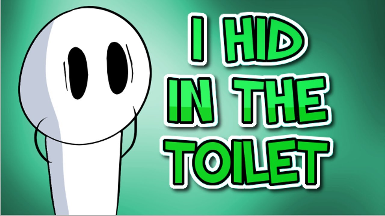 I Hid In The Train Toilet Animated Story