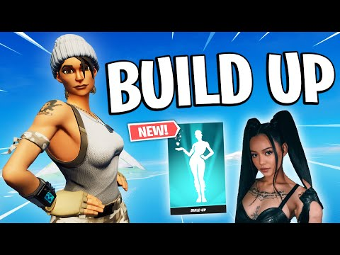 "Fortnite Montage - ""BUILD A B*TCH"" (Bella Poarch) *NEW BUILD UP EMOTE*"