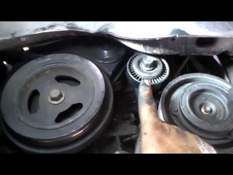 How to remove ac tensioner on a pt cruiser 03 youtube ccuart Choice Image