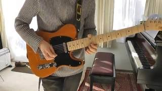Trying out Squier Fender Telecaster Affinity Butterscotch Blonde