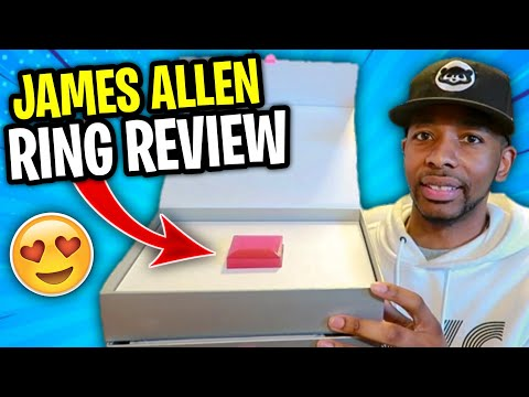 JAMES ALLEN ENGAGEMENT RING REVIEW!!!