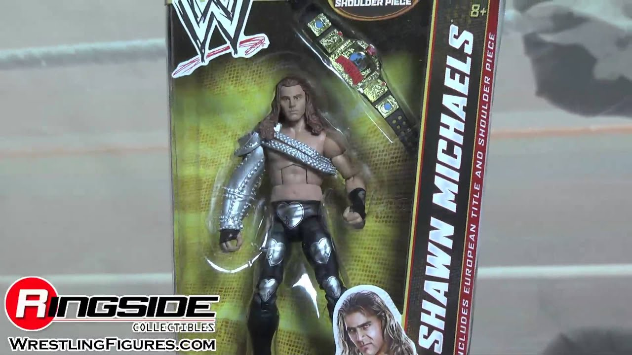 maxresdefault wwe figure insider shawn michaels elite 19 mattel action figures