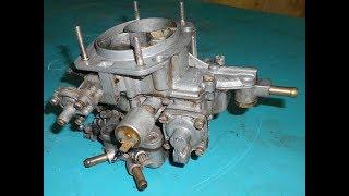 Карбюратор 2106 ( Вебер) ремонт и небольшая доработка эмульсионных трубок