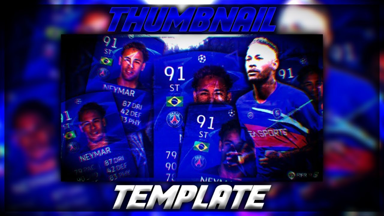 Fifa  Thumbnail Template Free To Use