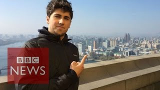 My university semester in North Korea - BBC News