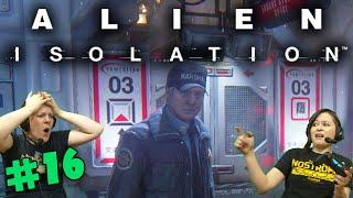 Alien Isolation - Marshal Waits (#16) with Hannah & Kim!