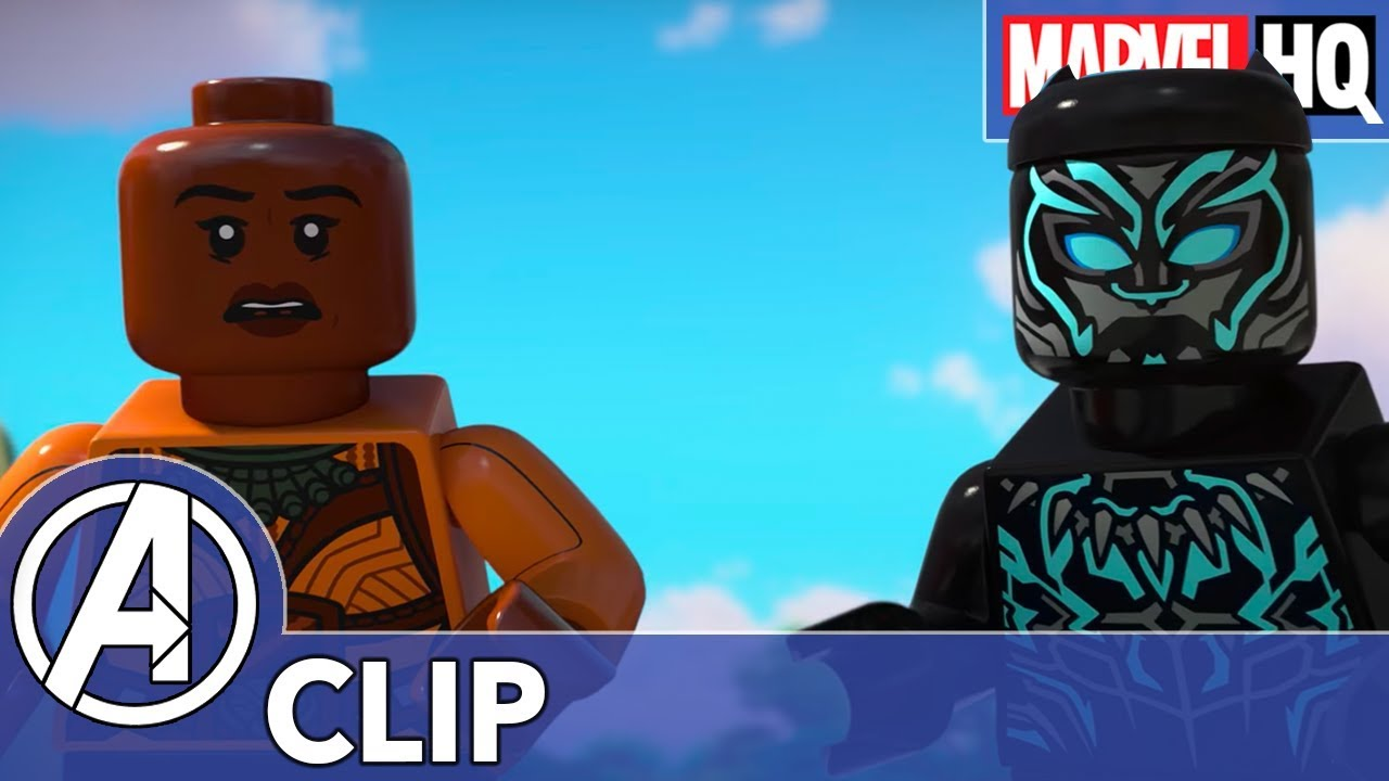 2d69c8bd Get Outta Here, Thanos! | LEGO Marvel Super Heroes: Black Panther - Trouble  in Wakanda | TEASER!