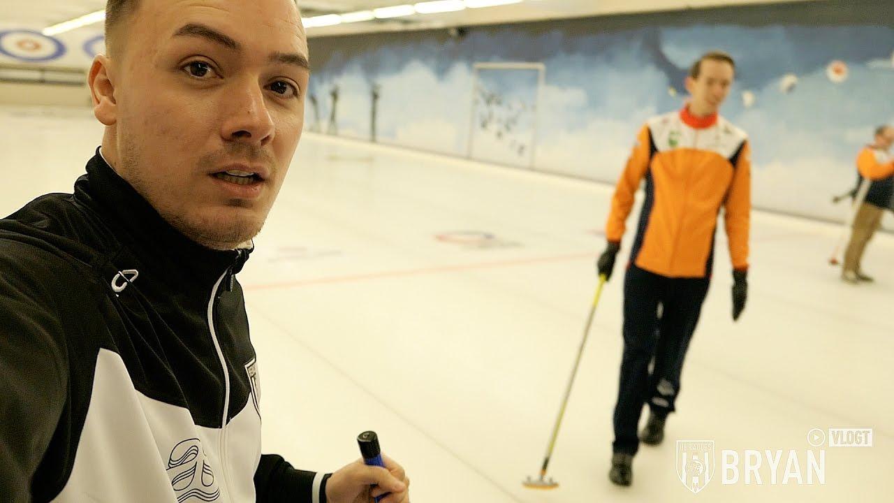 Bryan vlogt #9 | Curlen op spekglad ijs, E-Divisie, toernooiwinst in Eindhoven & wie wint FIFA17?