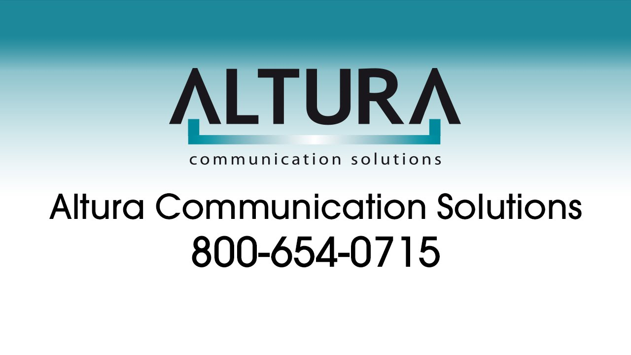 Cover photo for Altura Communication Solutions