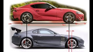 2020 Toyota Supra Re-design - From a Designers Perspective