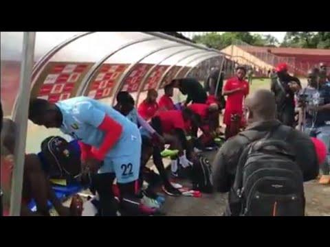 Le Syli National au stade du 28 septembre de Conakry