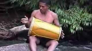 Gandang Katindik - drum solo at the river