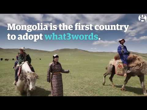 Mongol Post | The Guardian | what3words