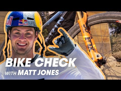 Let's Check Matt Jones' Mountain Bike  Red Bull Joyride 2018