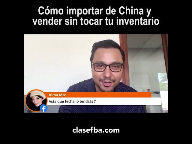 Cómo importr de China y vender sin tocar tu inventario