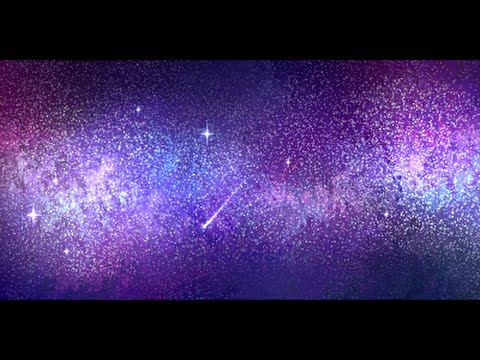 Painting starry night sky using photoshop doovi for How to paint galaxy
