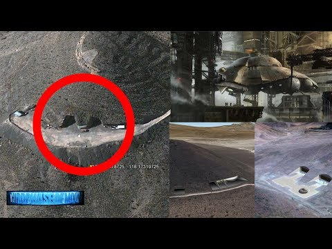 BREAKING NEWS: UFO Hangar! Area 51 Hidden Underground Base FOUND? 7/18/2017