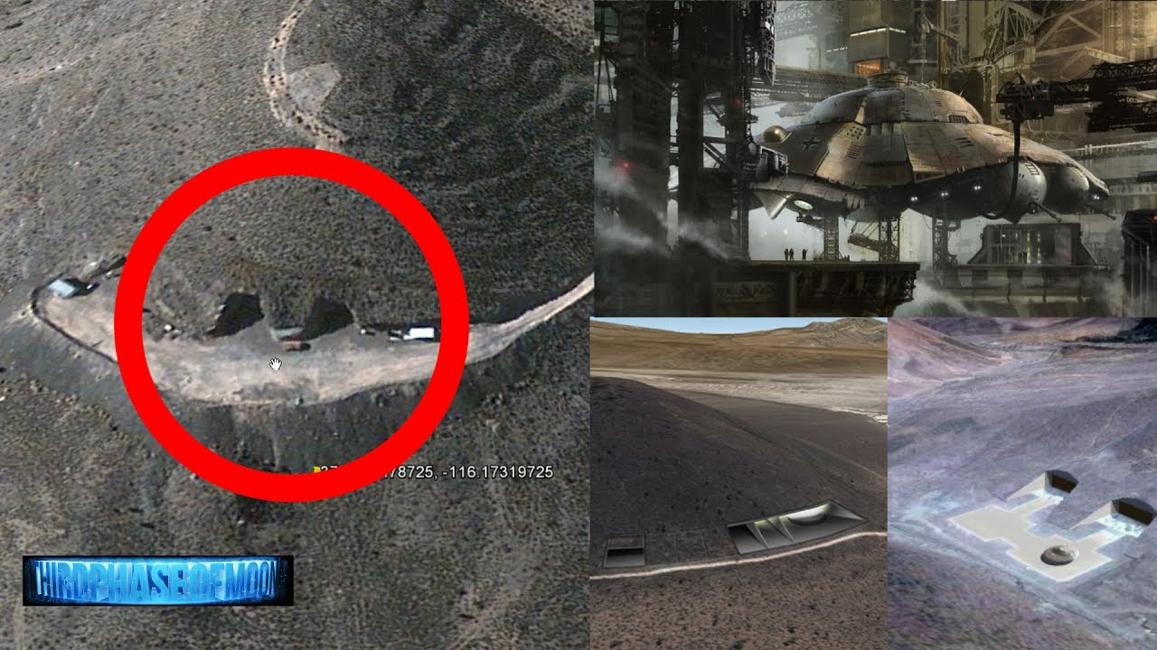 Breaking News Ufo Hangar Area 51 Hidden Underground Base