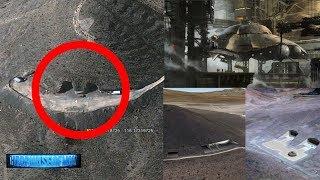 BREAKING NEWS: UFO Hangar! Area 51 Hidden Underground Base FOUND? 7/18/2017