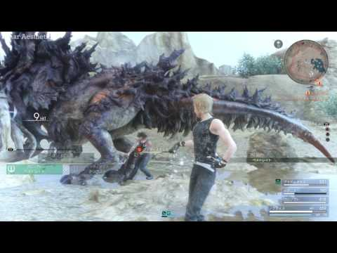 FINAL FANTASY XV - Secret Monsters, Weapons, Places and More l Judgment Disc Demo