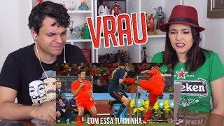 Baixar REACT ♫ SÓ QUER VRAU | Paródia de Futebol - MC MM feat DJ RD (FutParódias)