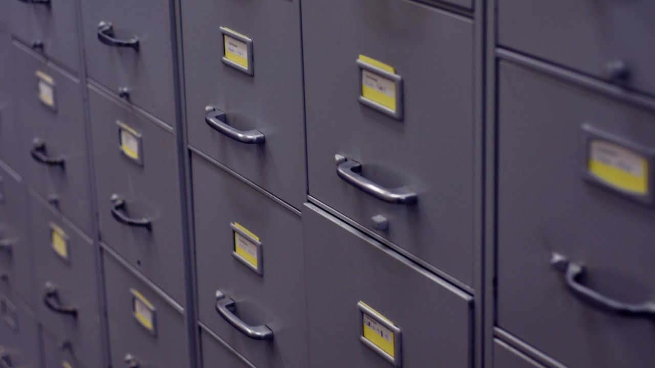 Top Secret Files Found In Old Filing Cabinet