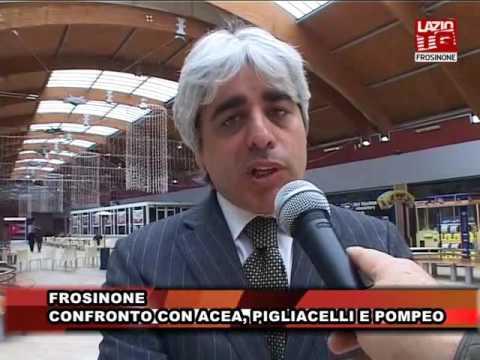 FROSINONE. CONFRONTO CON ACEA, PIGLIACELLI E POMPEO           WWW.PERTEONLINE.IT
