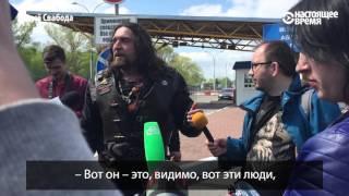 """""""Хирург"""" Залдостанов толкает журналиста после вопроса о СССР и Гитлере"""
