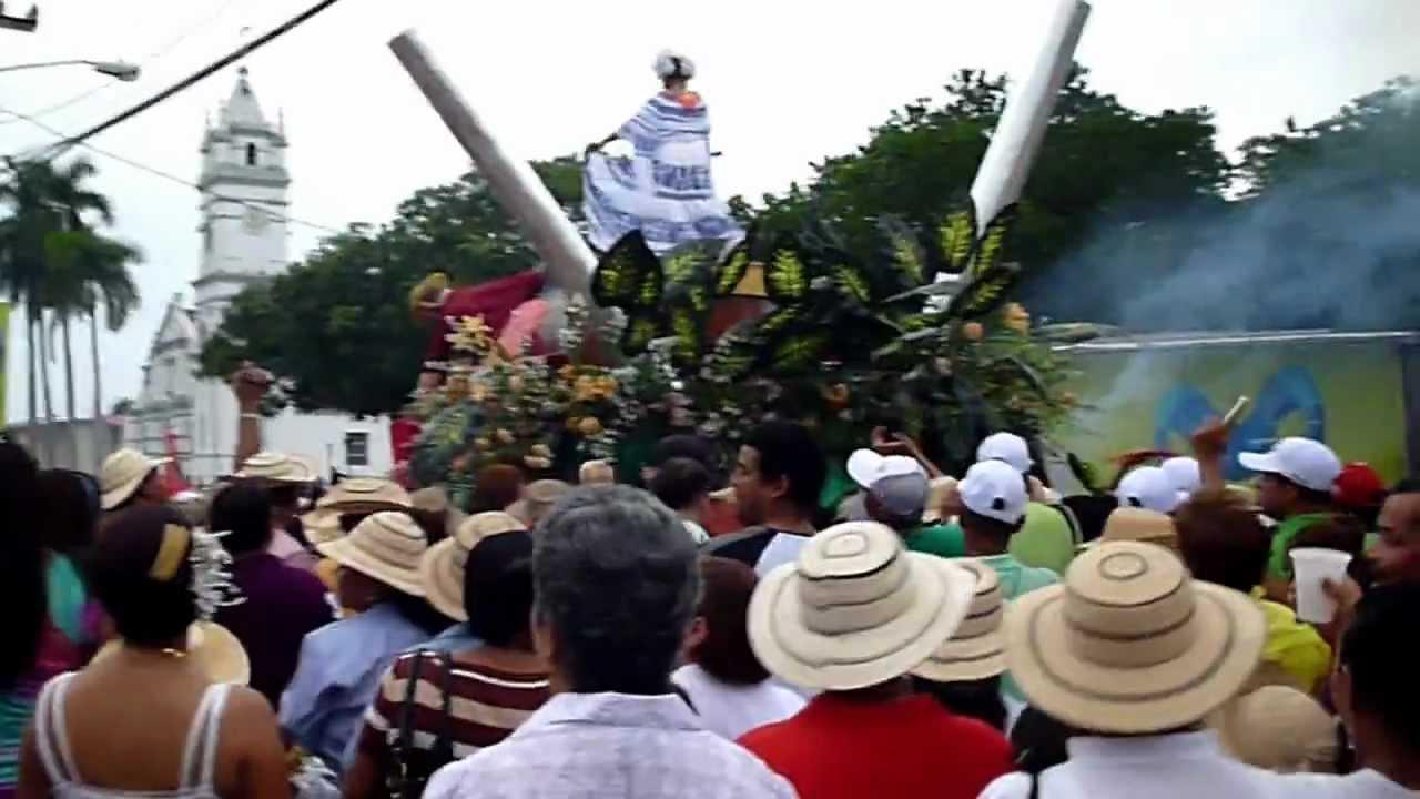 Paseo De Carretas En La Villa De Los Santos 2011 Parte 2