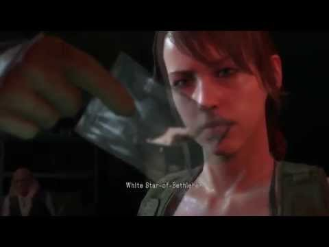 METAL GEAR SOLID 5 QUIET  FALL IN LOVE  WITH BIG BOSS  and can talk