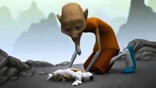 El perro y el monje
