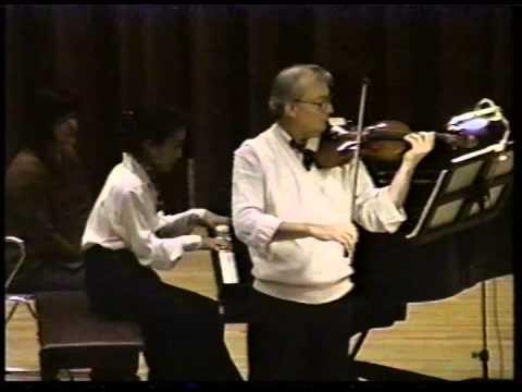 Skowronski Plays! Paderewski Violin Sonata, op.13, Third Movement