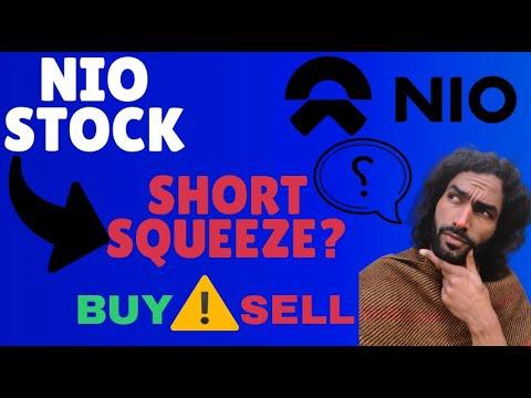 NIO STOCK ..  SHORT SQUEEZE! WARNING PRICE!😱 - Stock Update + Price Target ?