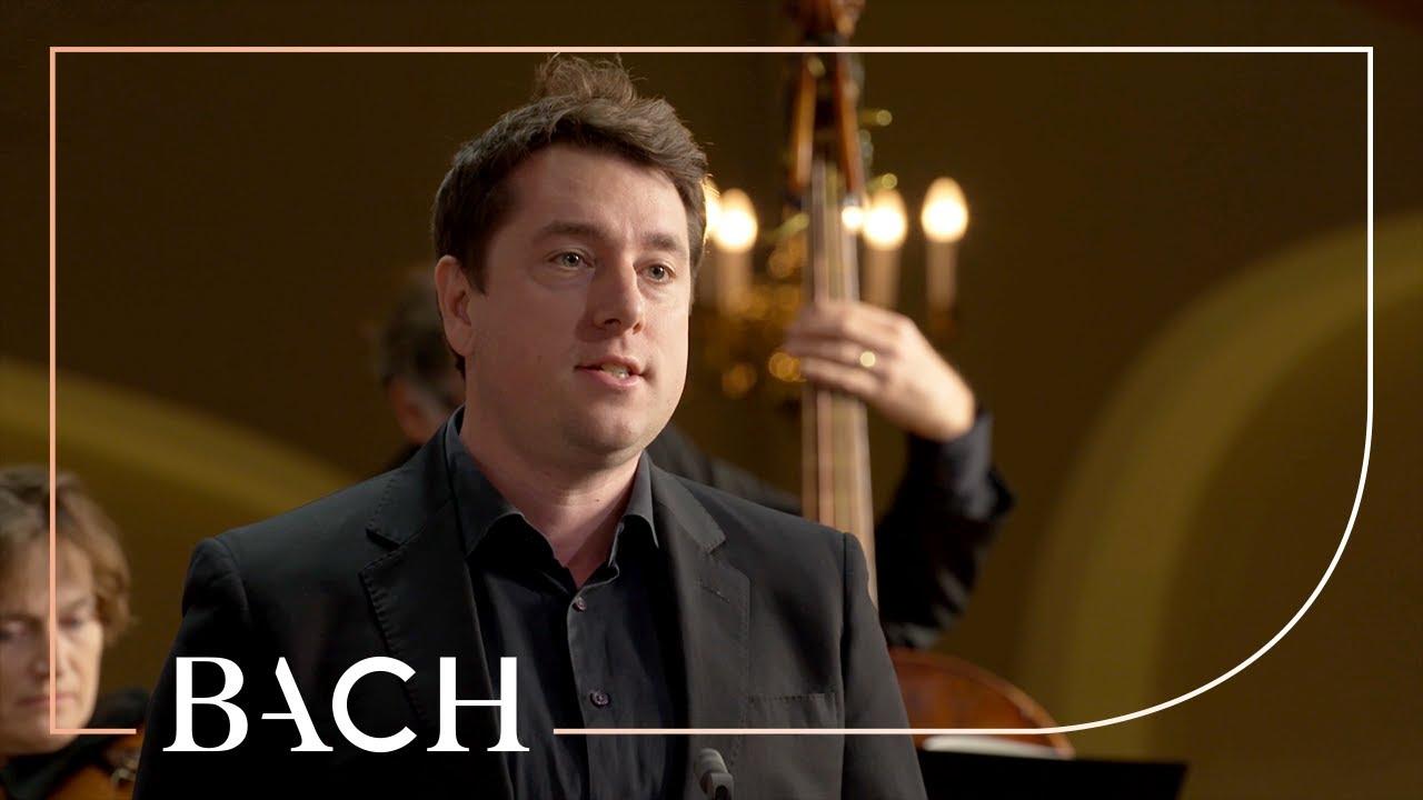 Bach - Cantata Ich armer Mensch, ich Sündenknecht BWV 55 - Van Veldhoven   Netherlands Bach Society