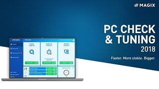 MAGIX PC Check & Tuning 2018 – Get your PC back into shape