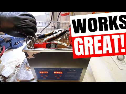 Ultrasonic Cleaner For Parts & Carburetor Cleaning 🆕