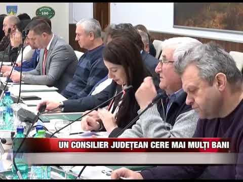 Un consilier județean cere mai mulți bani