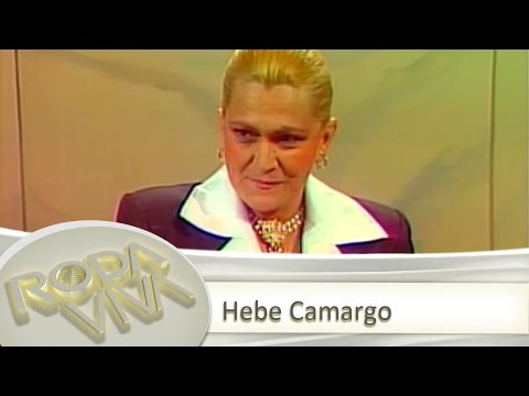 Hebe Camargo - 17/08/1987