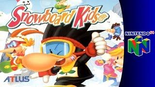 Nintendo 64 Longplay: Snowboard Kids