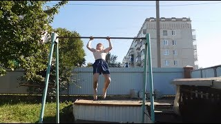 Сергей летняя тренировка