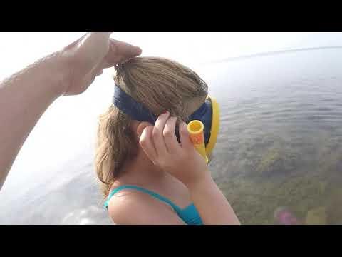 Как дышать под водой с трубкой